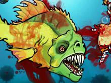 لعبة السمكة المتوحشة 4